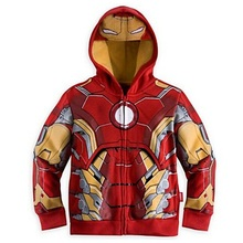 цена на The Avengers, Iron Man Children Hoodies Sweatshirt Boys Girls Spring Autumn Coat Kids Long Sleeve Casual Outwear Baby Clothing