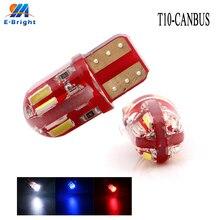 цены на 4-500pcs T10 Canbus 4014 8 SMD Silica Led Bulbs Car Stying Led Indicator Light Reverse Lamp Auto Tail Lamp 12V Free Shipping  в интернет-магазинах