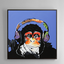 100% Hand Painted Abstract Orangutans Art Painting On Canvas Wall Art Wall Adornment Pictures Painting For Live Rooms Home Decor 100% hand painted abstract morden feathers art oil painting on canvas wall art wall adornment pictures for live rooms home decor