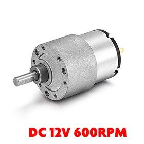 Uxcell(R) Hot Sale 1pcs Mini 12V DC 600 RPM 2N.cm Gear Box Electric Motor
