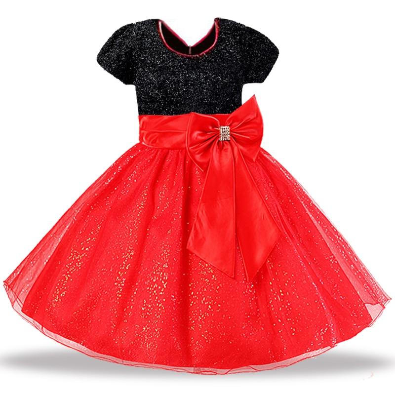 New Big bow tutu dress for Girls Rose Bow Flower Girls Princess dress Girls dresses for Summer Party dress Girls clothing