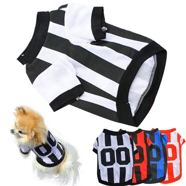Clothes for Dog Spring Unisex Cute Small Dog Clothes T Shirt Apparel Vest Honden Kleding Dog Clothing 5