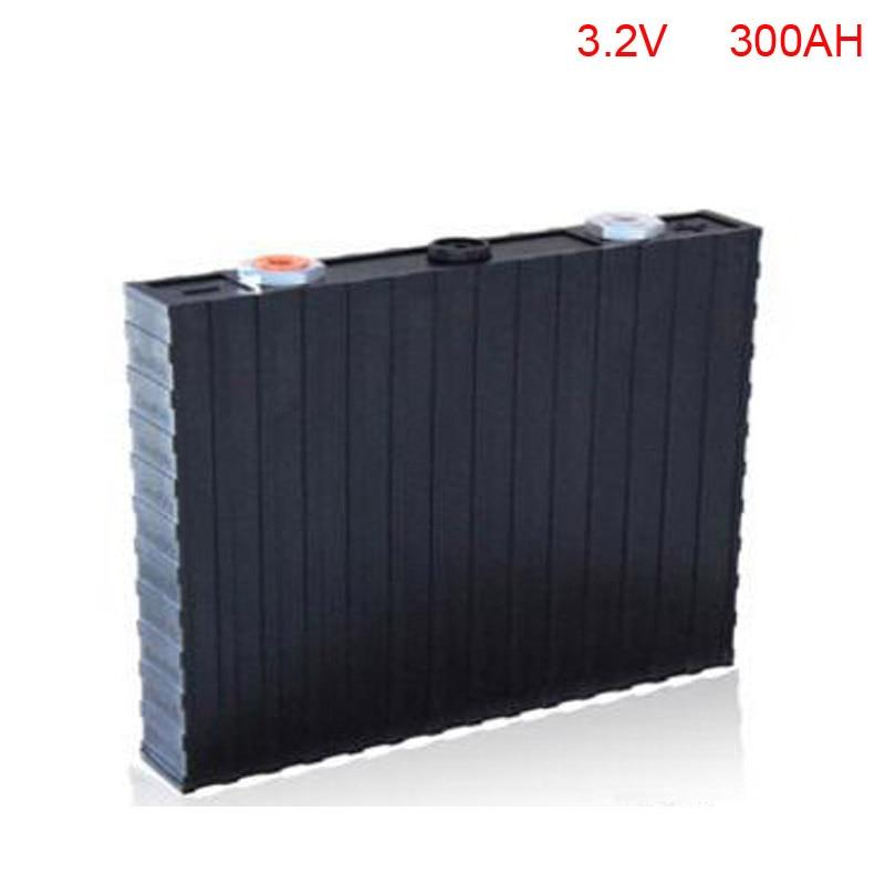 цена на 4pcs/lot 3.2V 300Ah LiFePo4 battery pack for EV, energy storage & other power source system