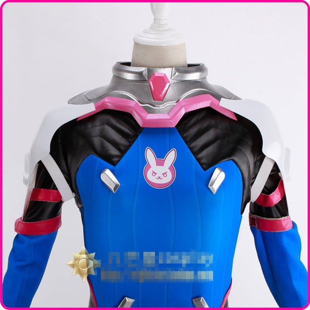 Free Shipping OW D.VA Cosplay Props Collar Shoulder Armor In Stock