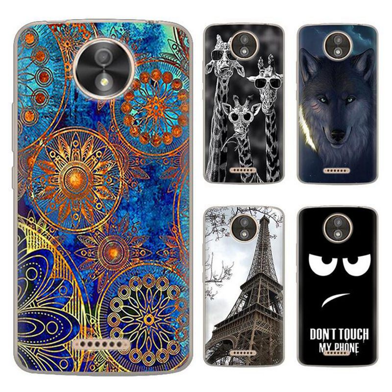 pretty nice 70889 aec4d US $2.48 31% OFF Aliexpress.com : Buy For Motorola Moto C Plus XT1723 Case  For Moto Cplus Cover Silicone TPU Mobile Phone Cases For Lenovo Moto C Plus  ...
