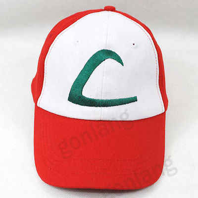 b7065213611 ... Anime Pokemon Figure ASH KETCHUM trainer costume cosplay hat cap Gift  ...