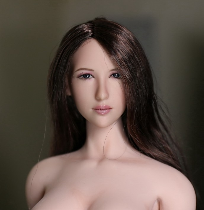 купить 1/6 scale figure doll accessories Pretty female head shape Carved for 12