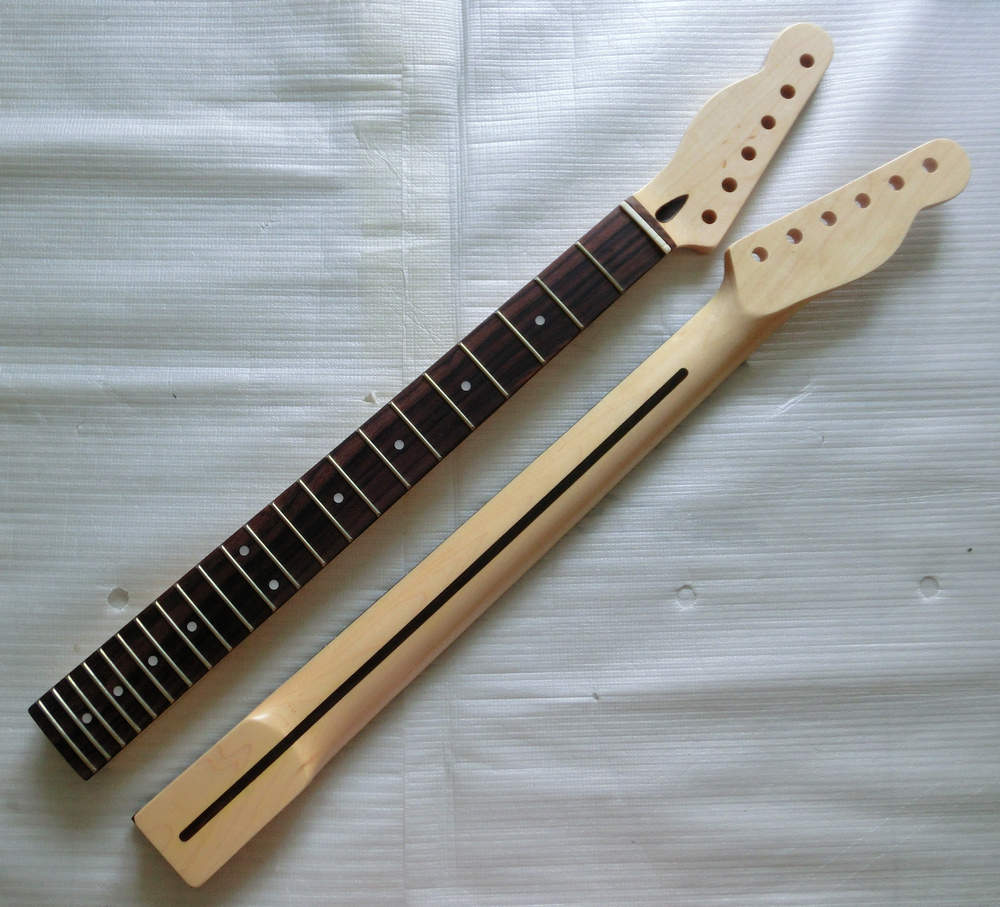 Left Hand Electric Guitar Neck Parts Replacement Canada Maple with ...