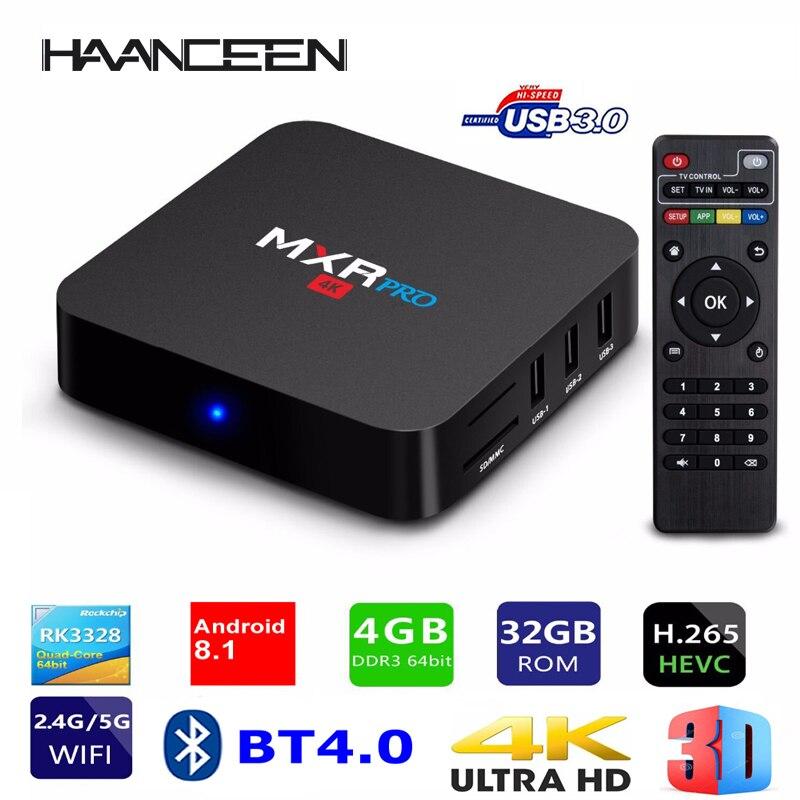Smart TV BOX MXR PRO Android 8 1 RK3328 Quad Core 4G Ram 32G Rom 2