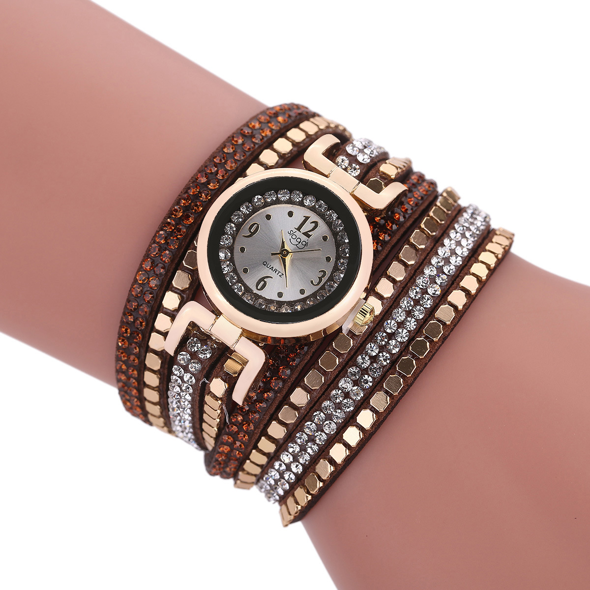 Sloggi Brand Bracelet Dress Watches Women Fashion Fabric Strap Ladies Quartz Wrist Watch Vintage Clock reloj mujer new arrival watch women quartz watch gold clock women leatch watches viuidueture brand fashion ladies dress watches reloj mujer