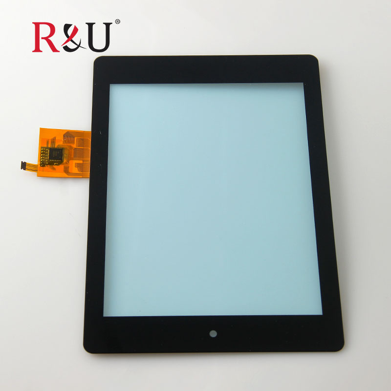 R&U test good 7.9inch Touch Screen Panel Digitizer outside screen replacement for Acer Iconia A1 A1-810 A1 810 A1-811 Tablet PC for acer iconia tab a1 a1 810 a1 811 a1 810 tablet pc touch screen panel digitizer glass lens sensor repair parts replacement