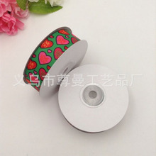 Single-sided Printing Satin Ribbon DIY Digital Thermal Transfer Sublimation Whorl Belt Weaving Valentines Day Series