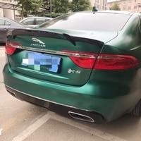 Rear Trunk Lid Car Spoilers Wings For Jaguar XF 2012- 2018 Carbon fiber Spoiler Window Louvers XF Aspec style
