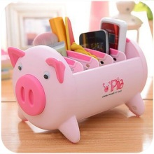 VKStory New Hot Sale House Animal Storage Basket For Pen Pencil Rubber Notepad Space Saving
