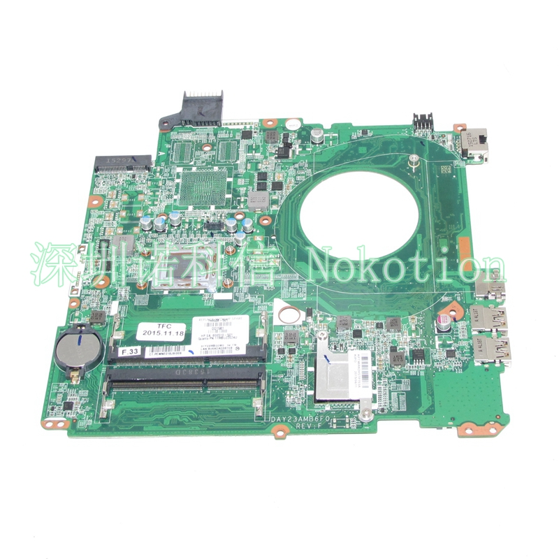 NOKOTION 799508-501 799508-001 800510-501 DAY23AMB6F0 For HP Pavilion 15Z-P 15-P laptop motherboard A10-4655M CPU ytai a10 4655m for hp pavilion 15 15 n laptop motherboard 737138 501 737499 501 a10 4655m cpu da0u92mb6d0 mainboard fully tested