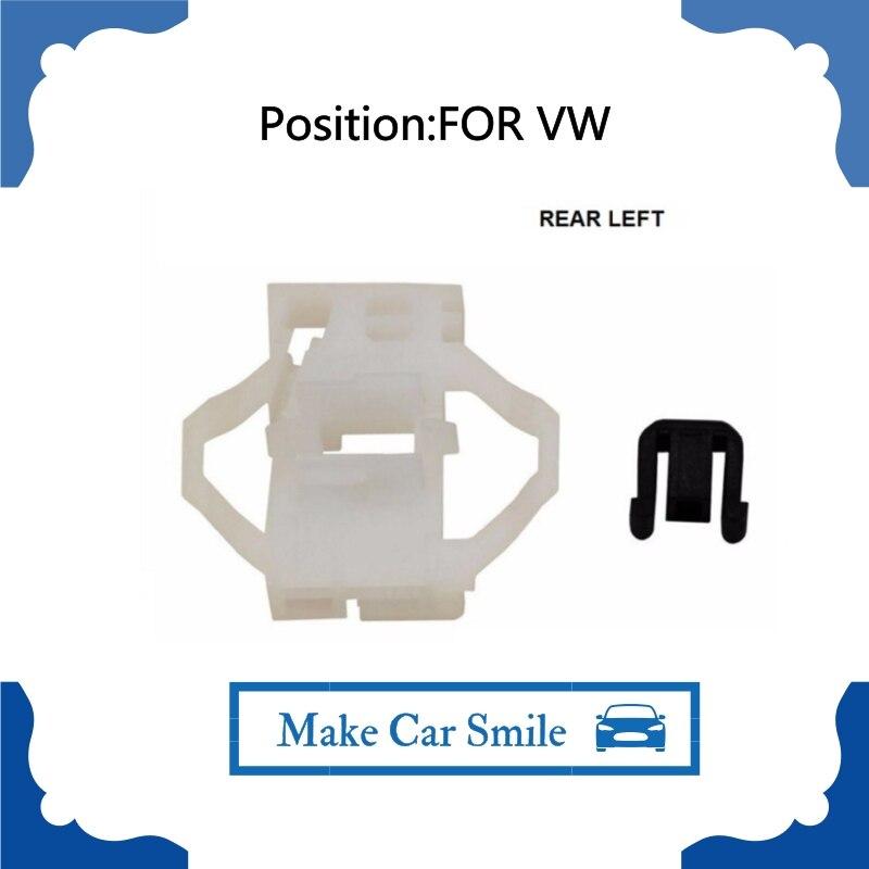 Para VW POLO CLASSIC tipo 6KV2 1995-2006 kit de reparación de regulador de ventanilla trasera izquierda 6K4837401D, 6K4839401B