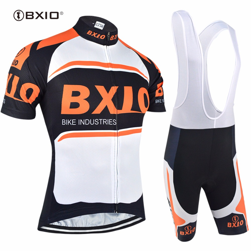 1d7e0a6d0 Bxio Cycling Sets Orange Bike Clothing Sets Cool Short Sleeve Mountain Bike  Clothes Ropa Ciclismo Bicycle Jersey BX 0209O 007-in Cycling Sets from  Sports ...