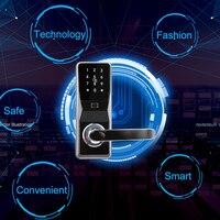 Eseye Smart Lock интеллектуальные электронные дверные замки смарт Сейф биометрический замок отпечатков пальцев пароль и RFID разблокировать