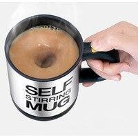 Self Stirring Mug Coffee Mug Cup 400 ML Automatic Electric Coffee Cup Stainless Steel Mugs Coffee