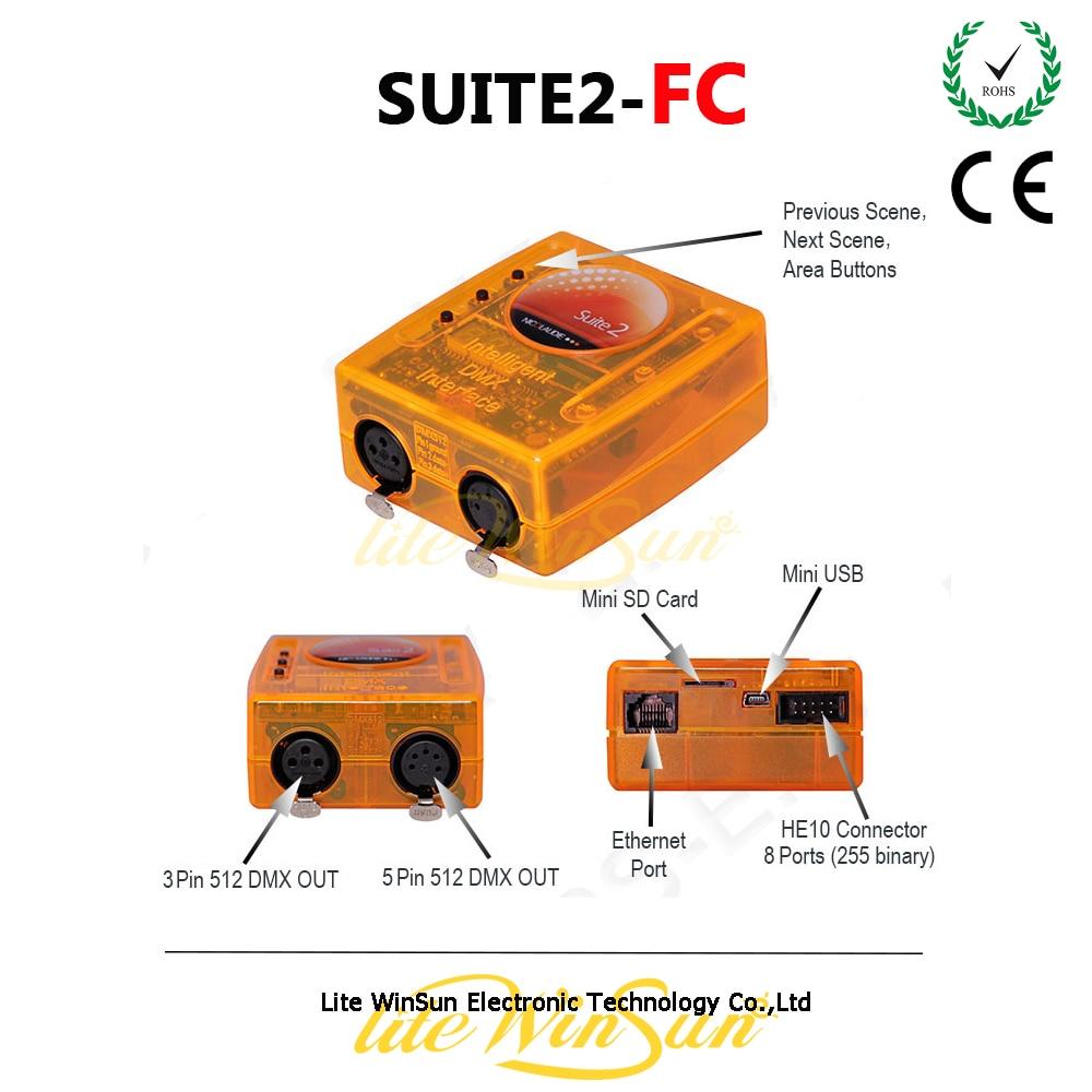 Litewinsune PC Win7 Window XP USB DMX Controller Software USB Artnet Interface Full Mode 3D Visualizer DJ Lighting Sunlit FC ...