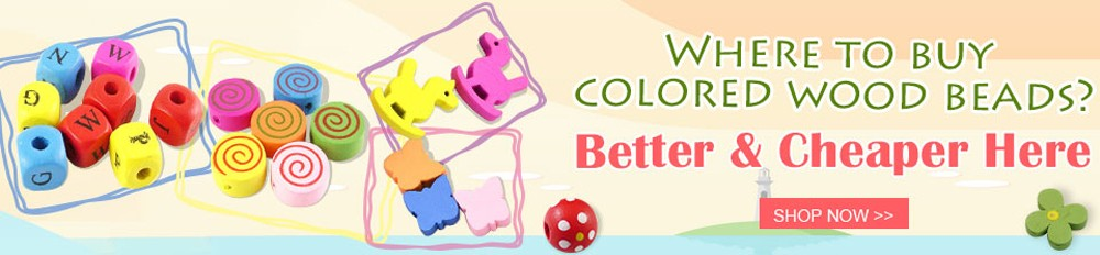 cheap-colored-wood-beads