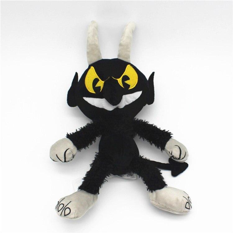 1pcs 30cm 11.8 Cuphead Devil Boss Legendary Chalice plush toys stuffed doll children birthday gift