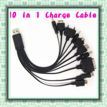 Universal Mobile Charging Cable USB Data Line Multifunctional Charging Line Multi 10 in 1 Mobile USB Charger Cable O25