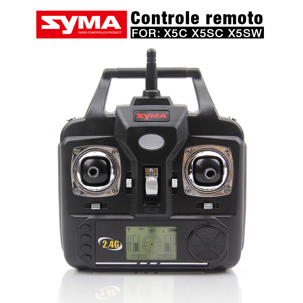 NEW Version SYMA Transmitter Remote Control For SYMA X5C X5 X5SC X5SW-1 V6 Version RC Helicopter Quadcopter Drone Parts english version vimoto v6 600mah
