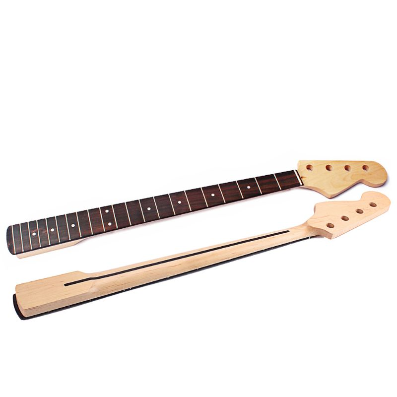 1PC Bass Guitar Neck for FD 4 String 21 Fret Right Hand Maple Rosewood 1PC Bass Guitar Neck for FD 4 String 21 Fret Right Hand Maple Rosewood