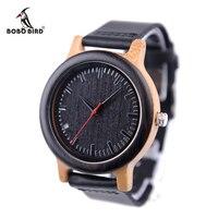BOBO BIRD Top Brand Watches Luxury Men Brand Watch Wood Men Watch Bamboo Wood Wristwatch