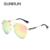 SUNRUN Espelho UV400 Polarized Homens óculos de Sol Ao Longo do Tamanho de Design Da Marca Óculos De Sol para Homem Oculos 17045
