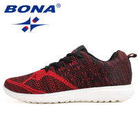 BONA New Arrival Popular Style Men Walking Shoes Outdoor Jogging Sneakers Lace Up Men Athletic Shoes Comfortable Free Shipping