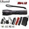Z20 Bright 3000LM CREE XML T6 LED Flashlight 5 Modes Zoomable Flashlight Lantern Led Torch Lighting