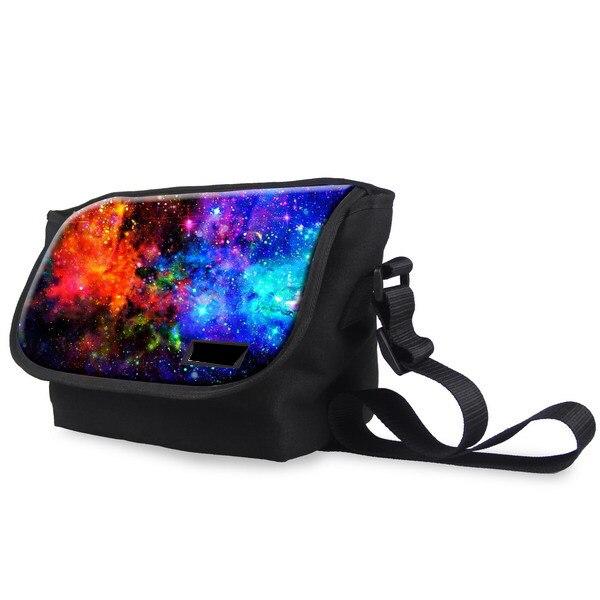 Brand Messenger Bag for Women Galaxy Star Universe Space Shoulder Bag Female Girls Casual Cross Body Bag Bolsas