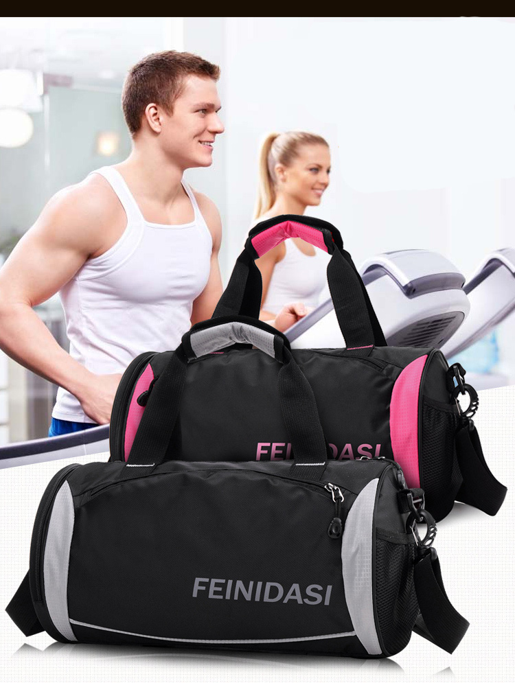 3075b34b71d8 2018 Hot High Quality Men Gym Bags For Training Waterproof Basketball Fitness  Outdoor Sports Bag With independent Shoes Storage