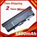 9 células 6600 mah bateria para dell para inspiron 1525 1526 1545 1546 C601H CR693 D608H GP252 GP952 GW240 GW241 GW252 HP277