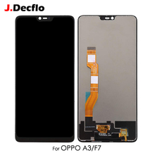 LCD Screen Digitizer For OPPO F7 A3 CPH1819 CPH1821 Full Assembly Display Touch Replacement 6.23 Black No Frame