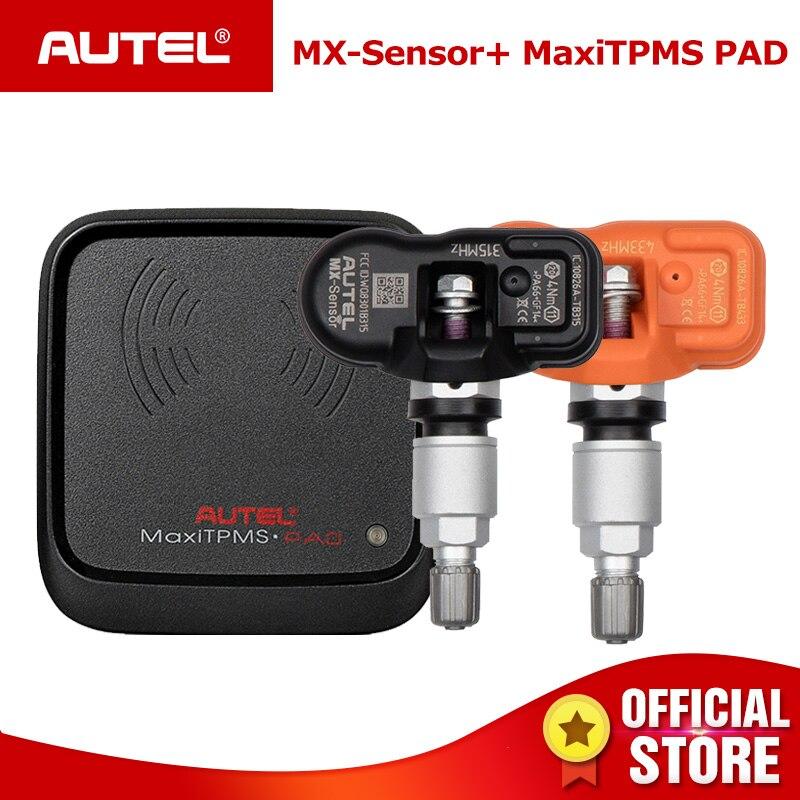 AUTEL MX Capteur 433 315 TPMS Mx-Capteur Scan De Réparation De Pneus Outils Automobile Accessoire Moniteur de Pression des Pneus MaxiTPMS Pad programmeur