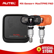 AUTEL датчик Mx 433 315 TPMS Mx-Сенсор сканирования инструменты для ремонта шин Автомобильный аксессуары датчик давления в шинах MaxiTPMS Pad программист