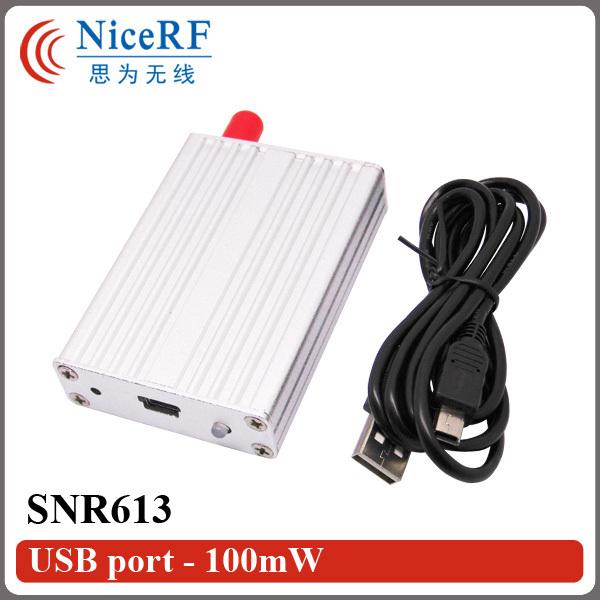 SNR613-868MHz RF Módulo Con Puerto USB | 100 mW Módulo de Nodo de Red para Transceptor de Datos Inalámbrica