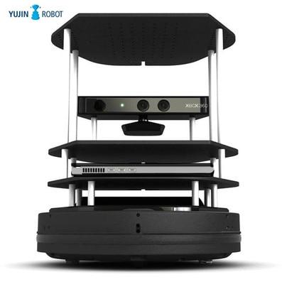 Source de Telefonia Coréia Yujin Robô Suite Turtlebot 2 – Kobuki Chassis Kit r & d Plataforma Open Móvel Inteligente Contro Remoto Ros