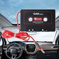 Новинка  Лидер продаж  1 шт.  3 5 мм  автомобильный AUX Аудиомагнитола  Кассетный адаптер  конвертер для автомобиля  CD плеер  MP3  высокое качество