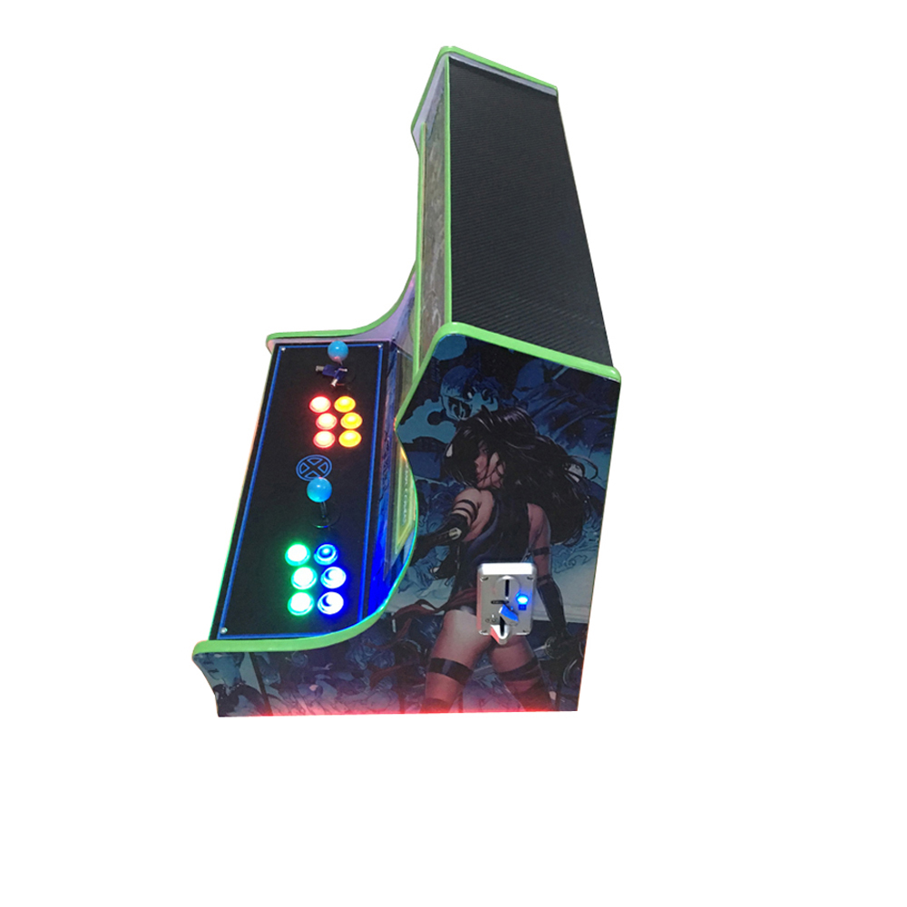games video Mini Arcade Machine With Classical Game 960 In 1 PCB use coin acceptor 36 23 56cm arcade coin door with quarter acceptor