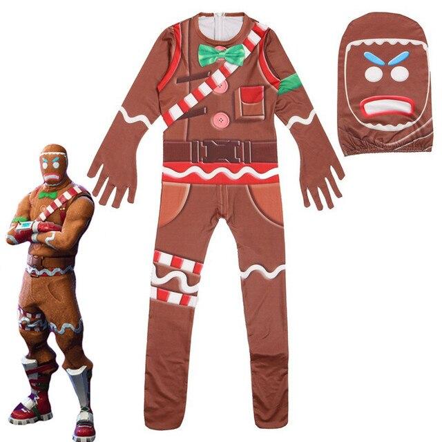 Детские костюмы с черепом из ламы, комбинезоны для мальчиков, одежда для костюмированной вечеринки с персонажем клоуна, костюмы Марди Гра, вечерние забавная одежда для вечеринки