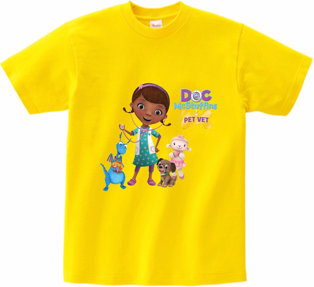 Girls Doc McStuffins Long Sleeve T-Shirt Size 3,4,5,8