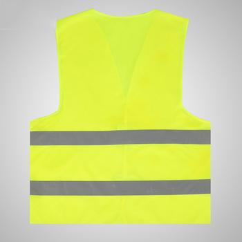 O wysokiej widoczności motocykl nocny jeździec na świeżym powietrzu kamizelka żółty przyciągające wzrok odblaskowa fluorescencyjne jazda na rowerze sport odzież ochronna tanie i dobre opinie Outdoor Vest Coat Brak Odblaskowe Pasuje prawda na wymiar weź swój normalny rozmiar Akrylowe yellow High Visibility High Visibility