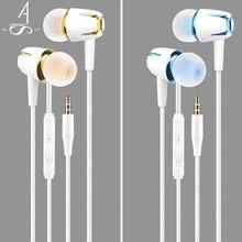 AhSSuf Auriculares Deportivos Earphones Fones De Ouvido Kulaklik Earbuds with Micphone Ecouteur Sluchatka for Smartphone MP3