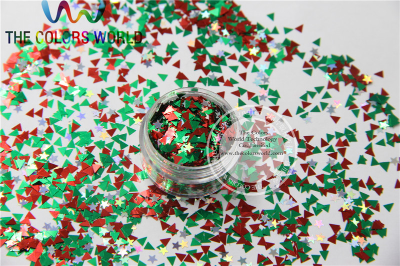 ISS-103  Mix Colors Solvent Resistant Glitter Spangles for Nail Polish Acrylic,DIY supplies1pack=50g tcf510 solvent resistant neon rose carmine color mickey mouse shape spangles for nail polish and other diy decoration1pack 50g