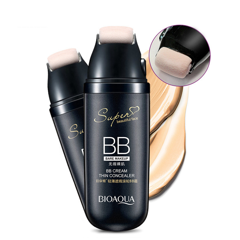 Roller BB Cream Whitening Waterproof Foundation Scrolling Liquid Cream Base Cover Foundation Ladies Makeup