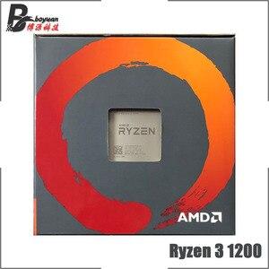 Image 3 - AMD Ryzen 3 1200 R3 1200 3.1 GHz 4 Nhân Quad Chủ Đề Bộ Vi Xử Lý CPU L2 = 2M l3 = 8M 65W YD1200BBM4KAE Ổ Cắm AM4 Mới Và Có Quạt